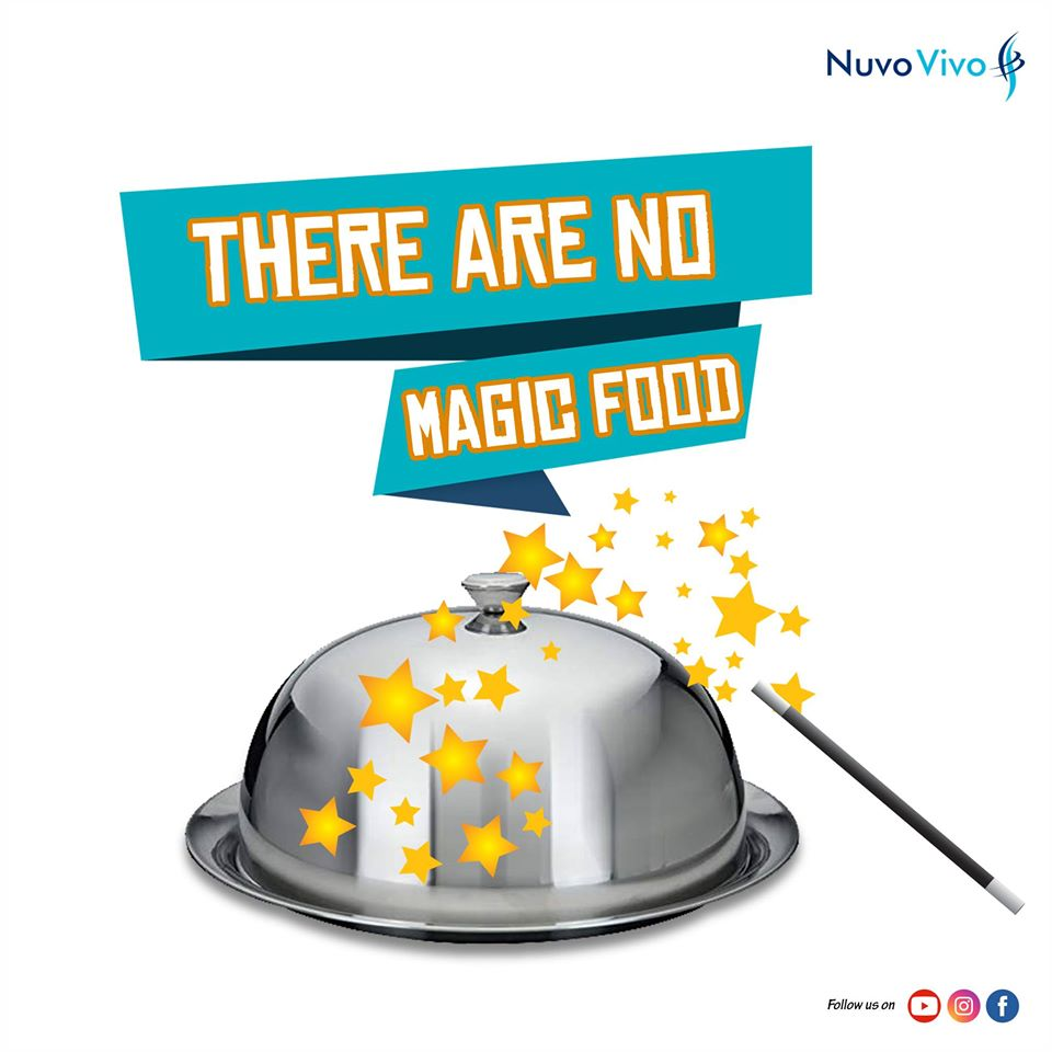There are no magic food